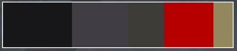 """白起体验服优化:以""""玄雍""""的主色红黑作为主色调"""