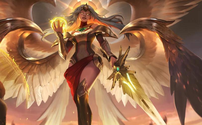 姿态新创天使攻速法穿流打法,改变天使前期弱势让其逐渐无敌