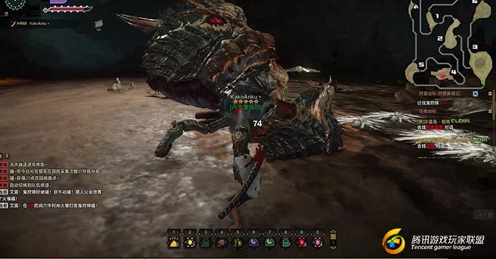 怪物猎人OL喵喵异闻录 熔壳之法 狩猎攻略