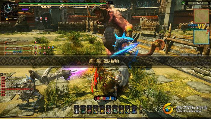 怪物猎人OL极限猎人挑战活动 第一局结束