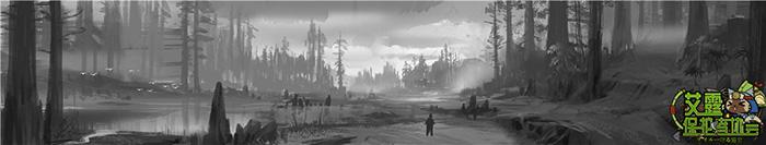 怪物猎人OL 筋疲力尽的猎人口中传出沉重的声音,他已经无力再做些什么,只能仰望着穿透云层的一丝微光,默默祈祷。