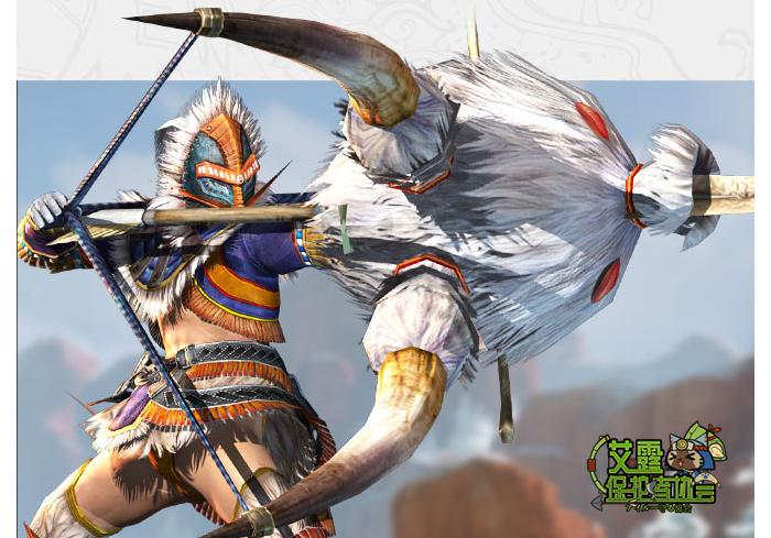 怪物猎人OL弓箭 优点:进退如风、战术多变