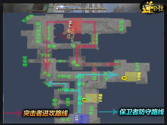 全新爆破地图指南 天府电站地形介绍