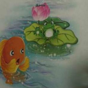 益智故事《不懂礼貌的小鱼玛莎》由木子演唱(原唱:编辑:水月天)