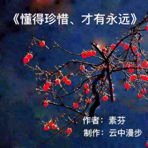 《懂得珍惜,才有永远》(热度:119)由竹云翻唱,原唱歌手云中漫步