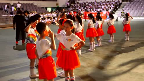 六一节集体舞表扬