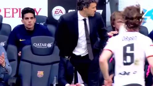 比赛中疯狂秀脚法的教练,谁说穆里尼奥不会踢球?