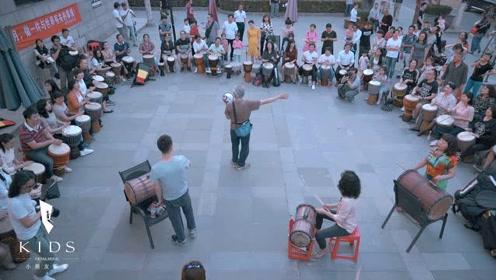 西安人与城  城事:在大唐西市击鼓而歌