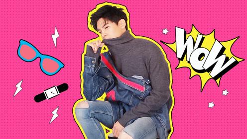 专访金马奖最佳男配林伯宏,他分享今年冬天男生最时髦的单品!