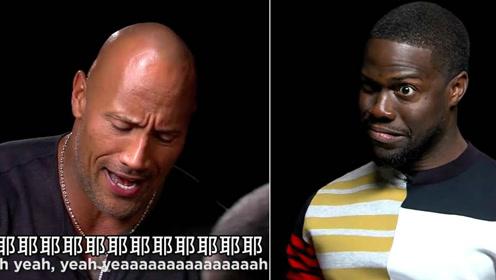 都是戏精!巨石强森和凯文哈特互相模仿,结果两个人都笑哭了!