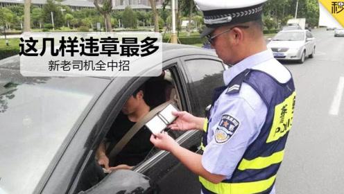 最新统计 据说新老司机违章离不开这7样