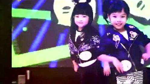 韩国舞蹈神童罗夏恩PK中国香港女孩,现在小孩都逆天了