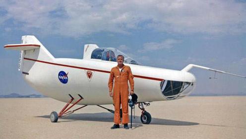 这没有翅膀的飞机,胖的像猪,直接能上太空,美俄pk谁能胜