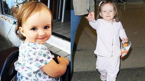 年仅3岁身价23亿比小七还萌 被称作英国最富有小公主