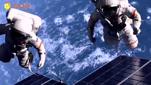 太空中真实画面,看完再也不羡慕宇航员