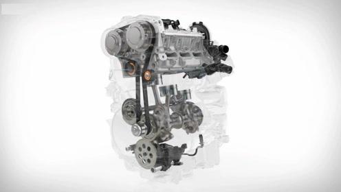 3分钟看懂沃尔沃Drive-E 3 cylinder引擎技术