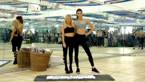 维密天使Alessandra Ambrosio独家揭秘大秀前健身神技能