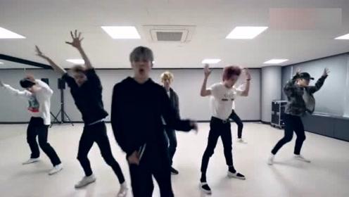 SM男团NCT U 最新单曲《BOSS》舞蹈练习室,编舞燃炸