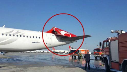 韩亚航班起飞撞断另一飞机尾翼反赖对方靠太近 网友:碰瓷呢?