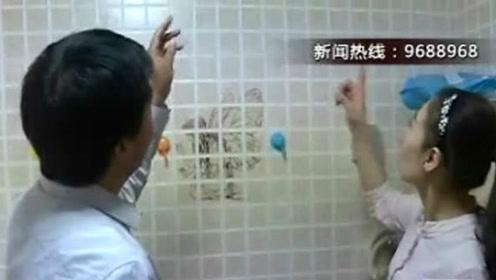 中国好邻居!女子万元钻戒滑落下水道 楼下邻居砸自家屋顶帮找回