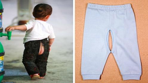 在宝宝的这个年龄段,家长就别给宝宝穿这种裤子了,别贪图方便凉快