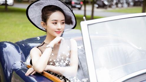 赵丽颖诠释优雅复古巴洛克 浅笑垂眸透视小秀神秘