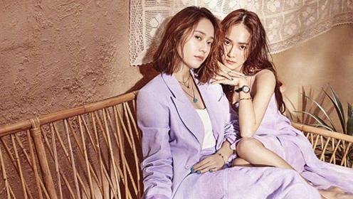 郑秀晶红裙亮相米兰时装周 与亲姐郑秀妍同框逛街超养眼