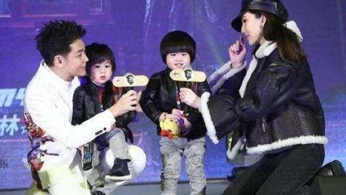 林志颖老婆首次公开露面!携双胞胎儿子亮相