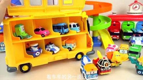 超可爱的小车车要上学啦!