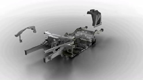 3D动画演示汽车底盘及动力结构!2分钟弄明白汽车构造!真过瘾
