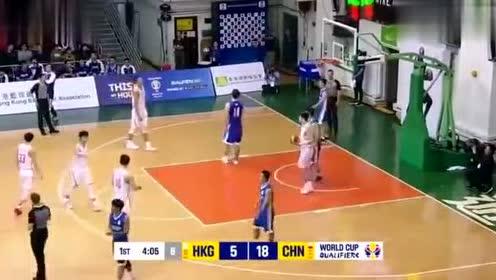 香港地区和大陆的一场篮球比赛! 还是比较精彩的, 不过差距明显!