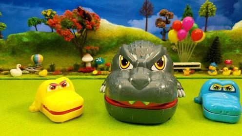 亲子手工制作鳄鱼