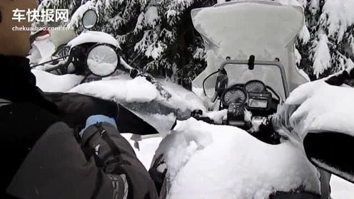 零下12°C BMW R 1200 GS ADV冷车启动预热