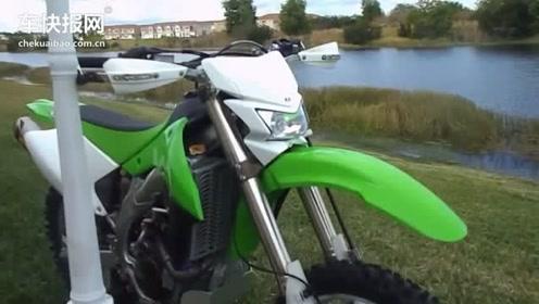 绿怪物川崎KLX 450 R听声音就很暴力