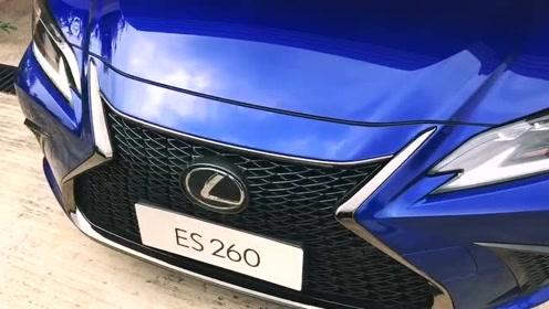 试驾雷克萨斯ES260 F sport