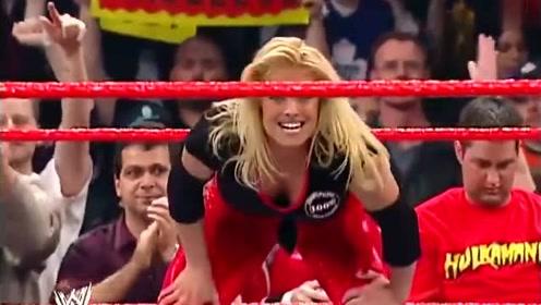 男女混合双打 崔西达德利 对美女炸弹摔爆桌