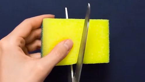 清洁棉的巧用方法!海绵百洁布原来是这样使用的