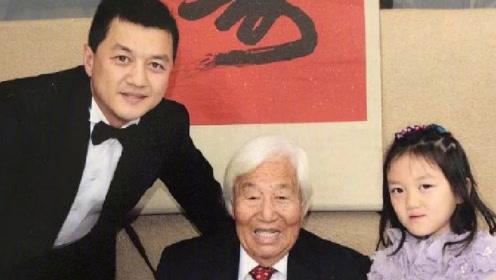 李亚鹏外公去世享年105岁 发文悼念展思念之情