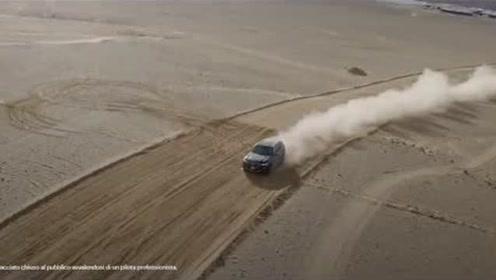 宝马 X5 征服蒙扎沙漠赛道