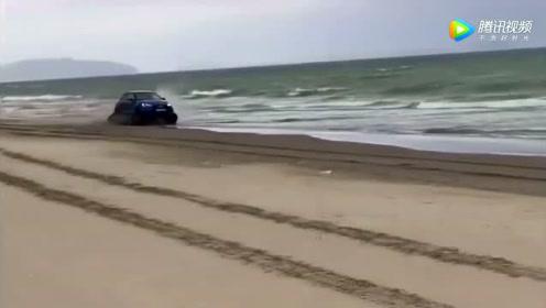 下次有人跟你说奥迪车不行的话,你可以把这视频给他看