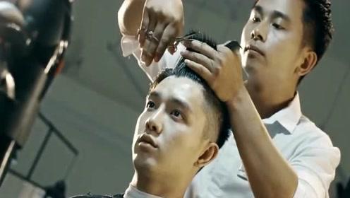剪个露额发型气质真的不一样的男子,不信你剪一个试试!