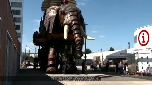 """50吨的""""巨兽"""",会逛街会喷水,却科技迷的最爱"""