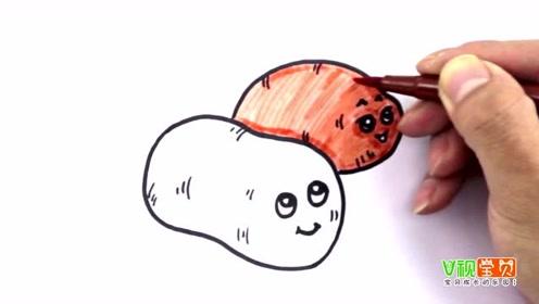 怎样画电视机幼儿亲子简笔画大全