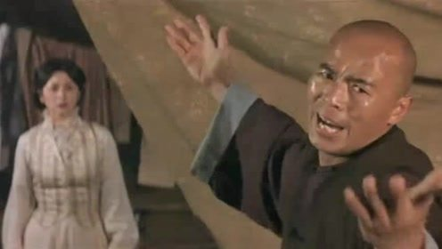 鬼脚七用黄飞鸿的专用招式唤醒黄飞鸿,却对他毫无作用!