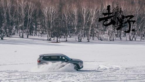 去野:零下十四度雪地玩雪 大通D90乌兰布统雪地穿越