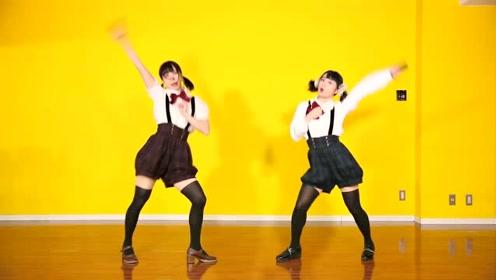 日本美女超可爱二次元舞蹈《小小恋歌》