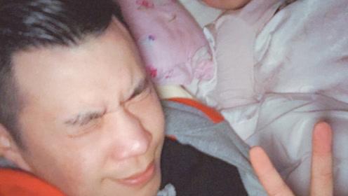 黄毅清发文为6周岁女儿庆生 女儿四字回复爸爸好有爱