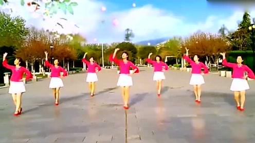 经典情歌《冬天过了你再走》广场舞,歌柔舞美,精彩不要错过哦!