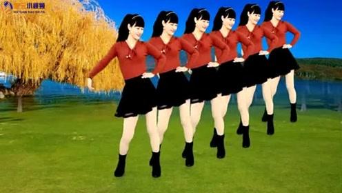 《再一次爱上你》32步水兵风格混搭广场舞,好听又好看!