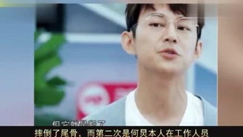 何炅因威亚失误骂哭男导演,但马思纯坠落他却很淡定,黄磊神助攻